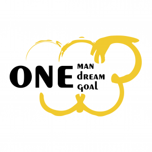 One man One dream One goal logo
